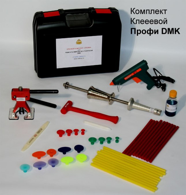 Инструмент своими руками для удаление вмятин без покраски